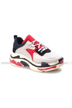 Red - Black - Sport - Sports Shoes - Fast Step(110317749)