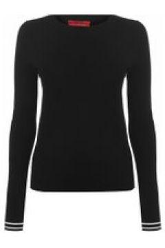 HUGO Sloggy Ribbed Knit Sweater - Black 001(111095050)