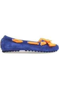 Ballerines Serafini ballerines bleu daim orange AM812(115443143)