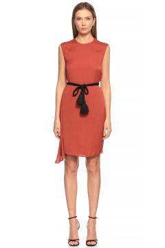 Lanvin-Lanvin Kiremit Rengi Mini Elbise(118836030)