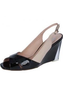 Sandales Wittchen sandales beige cuir verni noir BY88(115400877)