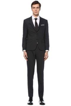Beymen Club Erkek Drop 7 Antrasit Kelebek Yaka Yün Takım Elbise Gri 54 EU(126243343)