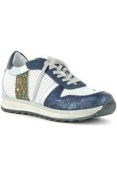 Chaussures Khrio Sneakers en cuir effet froissé(115470524)