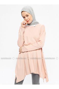 Powder - Crew neck - Acrylic -- Tunic - Seyhan Fashion(110337679)