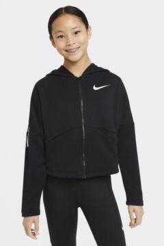 Nike Tam Boy Fermuarlı Genç Çocuk (Kız) Kapüşonlu Antrenman Üstü(118057224)