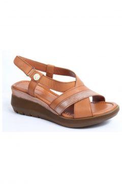 Messimod 3939 Kadın Günlük Anatomik Sandalet(110945211)