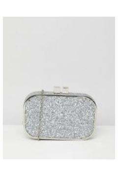 True Decadence - Pochette decorata argento glitter-Oro(120398251)