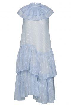 Pierre Dress Kleid Knielang Blau BIRGITTE HERSKIND(114163957)