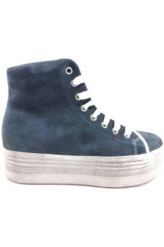 Chaussures Jeffrey Campbell sneakers bleu daim AY803(98485827)