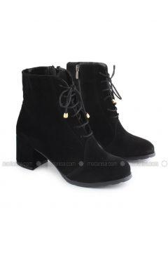 Black - Boot - Boots - İnan Ayakkabı(110336842)