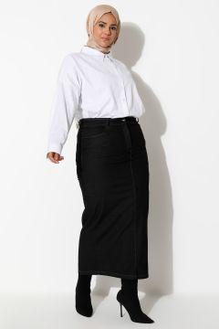 Jupe Grande Taille Timin Noir(125453373)