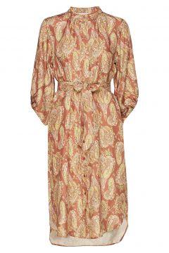 Dress W. Long Sleeves In Paisley Pr Kleid Knielang Bunt/gemustert COSTER COPENHAGEN(114163344)