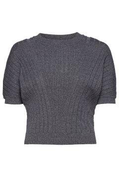 Dafne T-Shirts & Tops Knitted T-Hemd/tops Grau MAX&CO.(119860069)
