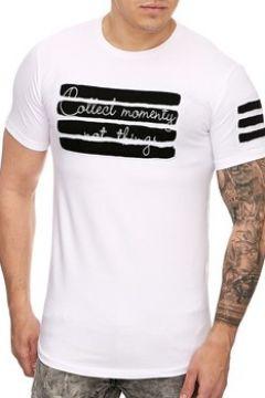 T-shirt Cabin T shirt homme asymétrique T shirt 935 blanc(115398203)