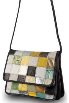 Sac Bandouliere Dudu Sacs à bandoulière en cuir Patchwork - Betty - Multicolor(115387915)