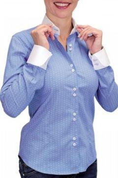 Chemise Andrew Mc Allister chemise a col blanc coventry bleu(115424524)