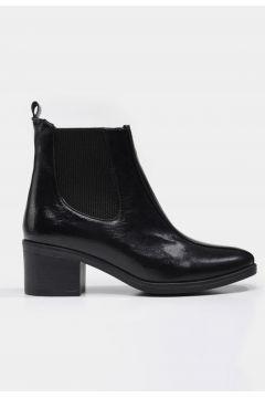 Hotiç Siyah Yaya Kadın Bot&Çizme(124472678)