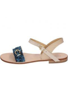 Sandales Calpierre sandales bleu cuir BZ838(115399030)