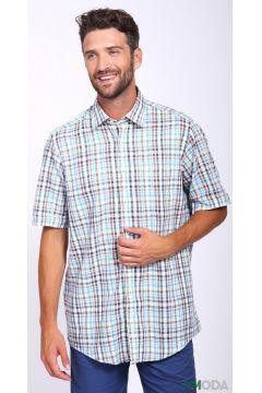 Мужские рубашки с коротким рукавом(109015301)