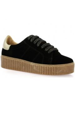 Chaussures Exit Baskets cuir velours(127912475)