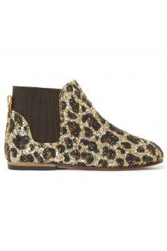 Chelsea Boots mit Pailletten Leopard(122894452)