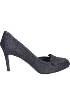 Chaussures escarpins 18 Kt escarpins noir textile glitter BS170(115443107)