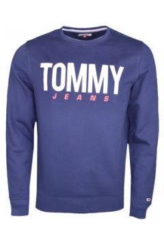 Sweat-shirt Tommy Jeans Sweat col rond bleu marine pour homme(115506647)
