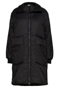 Jacket Gefütterter Mantel Schwarz SOFIE SCHNOOR(121387958)