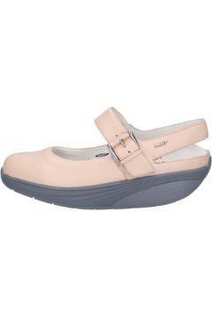Sandales Mbt sandales rose cuir AC371(115395122)