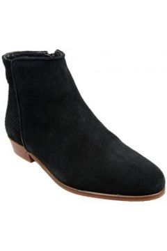 Bottines Bobbies Boots La Sauvageonne Noir(88617058)