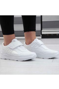 Almera Beyaz Cilt Kadın Spor Ayakkabı(110934774)