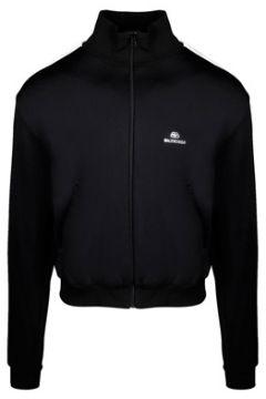 Balenciaga Erkek Siyah Logo Nakışlı Sweatshirt 46 IT(113464538)