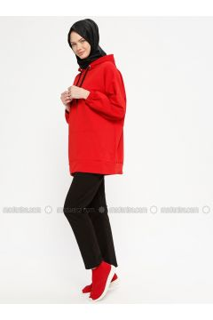 Black - Cotton - Tracksuit Bottom - Marwella(110332578)