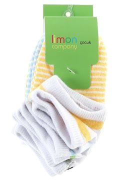 Limon 5\'li Çocuk Spor Çorap(113968199)