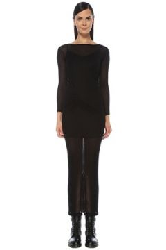 Allsaints Kadın Francesco Siyah Detaylı Midi Elbise 4 EU(118060071)