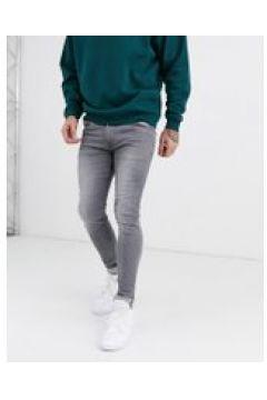Soul Star - DEO - Graue Skinny-Jeans - Grau(95032825)