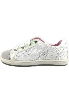 Chaussures enfant Laura Biagiotti sneakers blanc textile daim AH988(115400581)