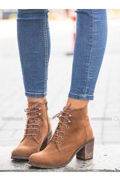 Tan - Boot - Boots - Mecrea(110323245)