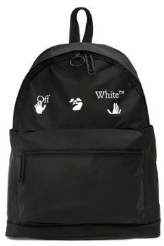 Off-White Erkek Siyah Logolu Sırt Çantası EU(122725932)