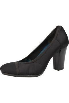 Chaussures escarpins Keys escarpins noir textile AE601(115399519)