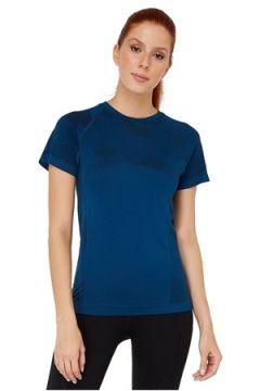 Jerf Kadın Castro Mavi Desenli T-Shirt Lacivert L EU(114438353)