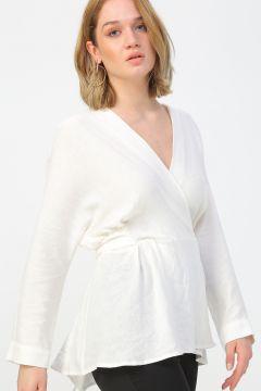 Fabrika Beyaz Bluz(113993999)