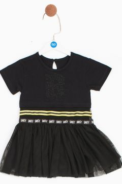 BG Baby Siyah Kız Bebek Elbise(114005709)
