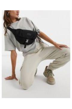 Consigned - Marsupio in twill con tasca frontale con clip-Nero(120399371)