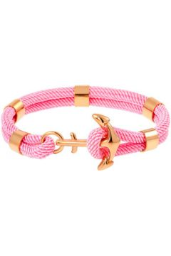 Bracelets B g Bracelet LES HAUBANS en Acier et Corde Rose Femme(115406622)