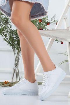 HAYATINIZI KOLAYLAŞTIRIN Kadın Beyaz Spor Ayakkabı(119983773)