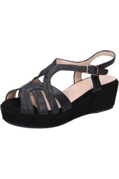 Sandales Allison sandales noir cuir daim BZ305(115393993)