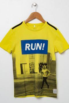 Name İt Erkek Çocuk Sarı T-Shirt(113980190)