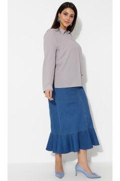 Jupe Grande Taille Timin Bleu Marine / Bleu(119069595)