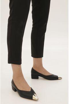 Marjin Siyah Kadın Adopa Topuklu Ayakkabı Ayakkabı(121100768)